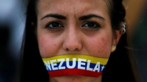 Protestas de la ciudadanía ante la crisis alarmante en Venezuela (fuente: Reuters).