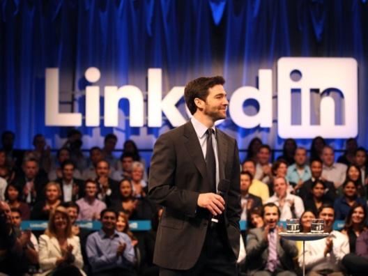 Jeff Weiner, CEO hasta la fecha 04.02.2020 de LinkedIn. Fuente: Stephen Lam/Getty Images