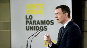 Sánchez movilizará 200.000 millones de euros para hacer frente a la crisis del coronavirus. Fuente: La Vanguardia