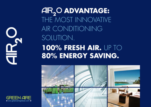 Fresh air cooling air 2o idec technology evaporative for Innovative hvac systems