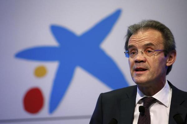 El Presidente de Caixabank, Jordi Gual. Fuente: Albert Gea, El Mundo