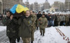 Ukraine in the middle of a crisis while Europe urges Moscow to support a peace deal.
